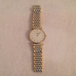 Longiness Silver Gold Plated Women's Watch